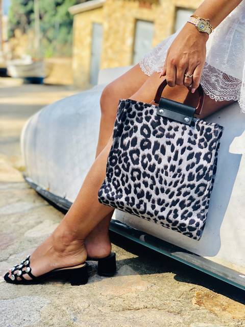 Ring Bag  Print leopardo